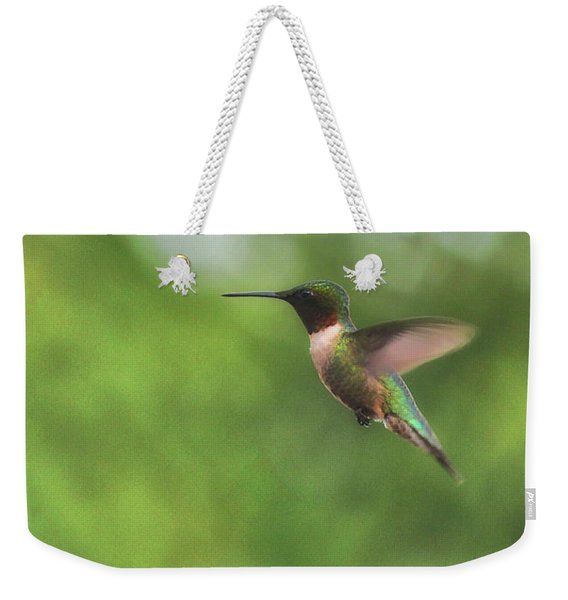 Weekender Tote Bag featuring the photograph Wings In Motion  by JAMART Photography