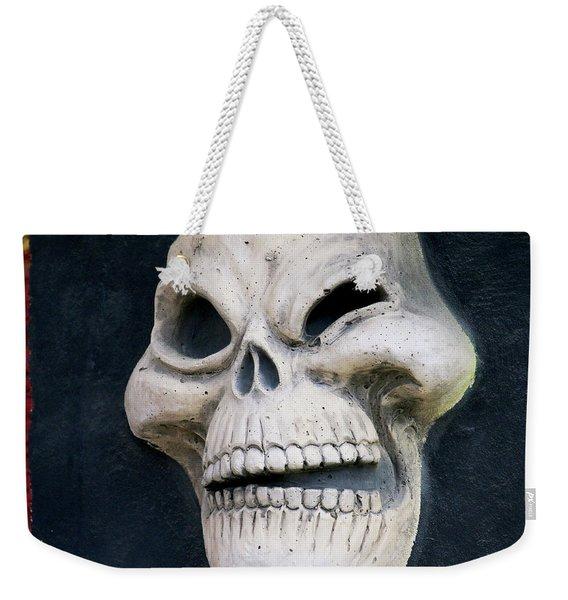 Winking Skull Weekender Tote Bag