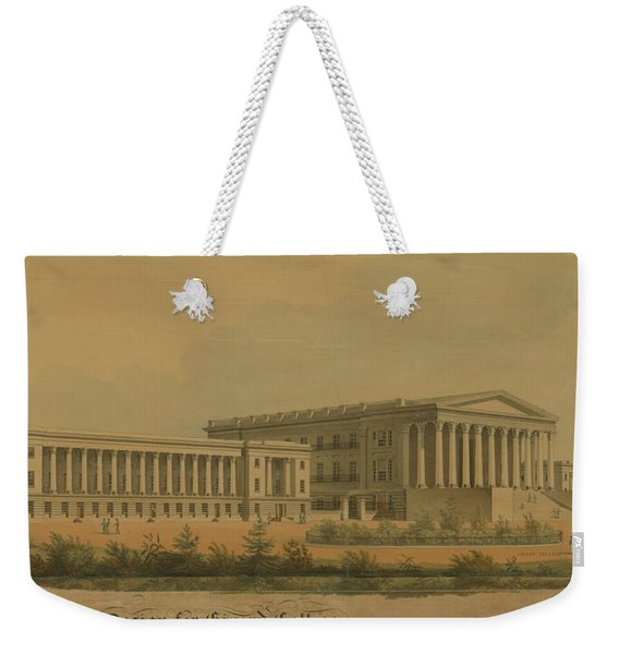 Winning Competition Entry For Girard College Weekender Tote Bag
