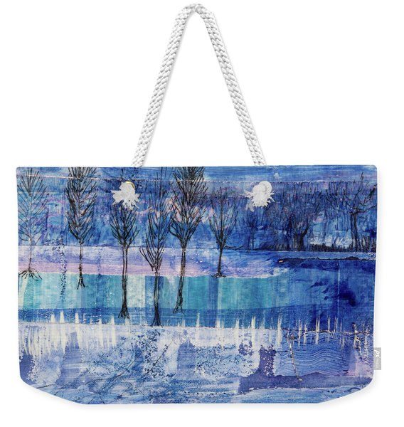 Winter Blues 1 Weekender Tote Bag