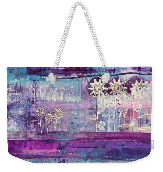Winter Blues 2 Weekender Tote Bag
