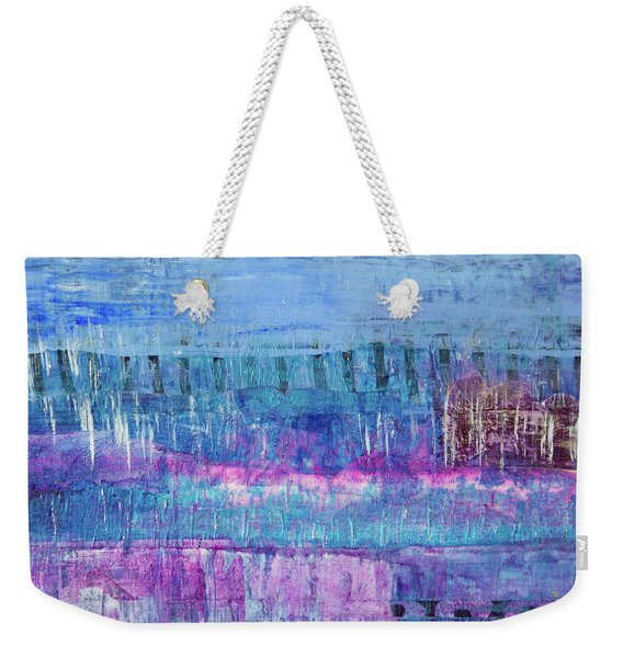 Winter Blues 3 Weekender Tote Bag