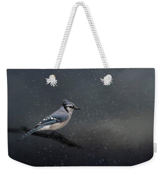 Winter Blues  Weekender Tote Bag