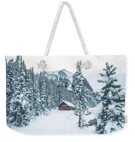 Winter Comes When You Dream Of Snow Weekender Tote Bag