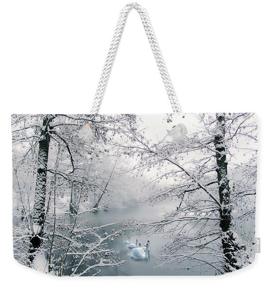 Winter Journey Weekender Tote Bag