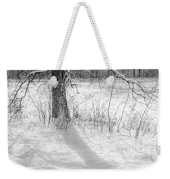 Winter Simple Weekender Tote Bag