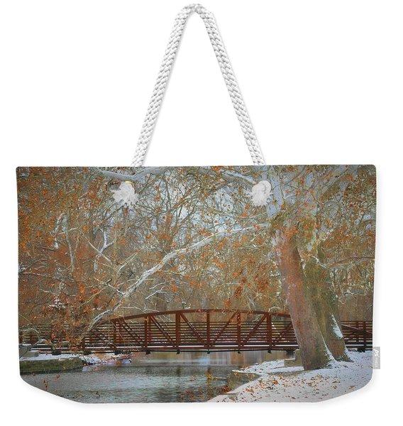 Winter Sycamores Weekender Tote Bag