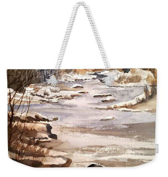 Winters Day Weekender Tote Bag