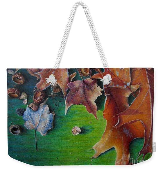 Winter's Prerequisite Weekender Tote Bag
