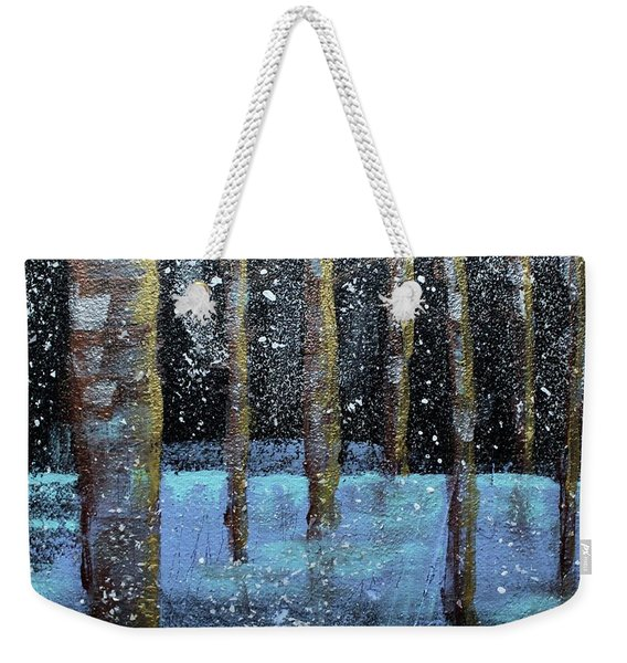 Wintry Scene I Weekender Tote Bag