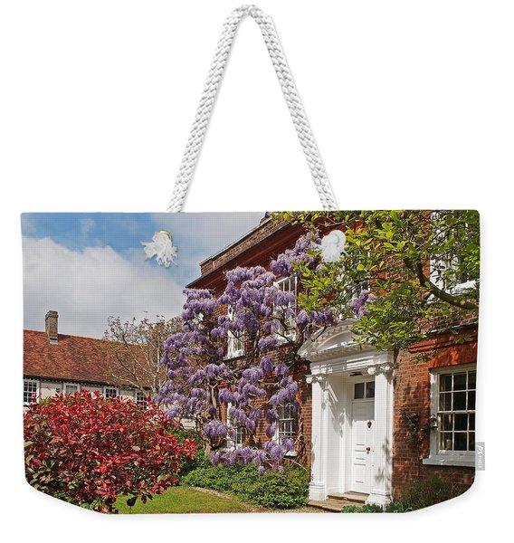 Wisteria House Weekender Tote Bag