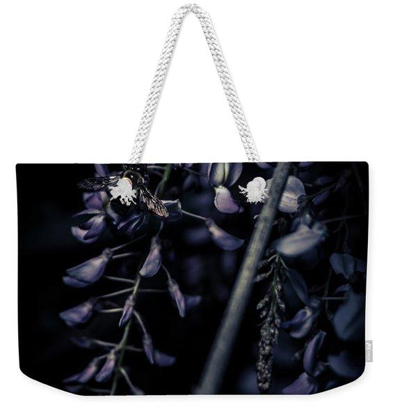 Wisteria Pollination Weekender Tote Bag