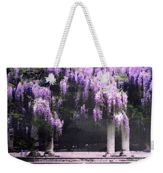 Wisteria Wonderland Weekender Tote Bag