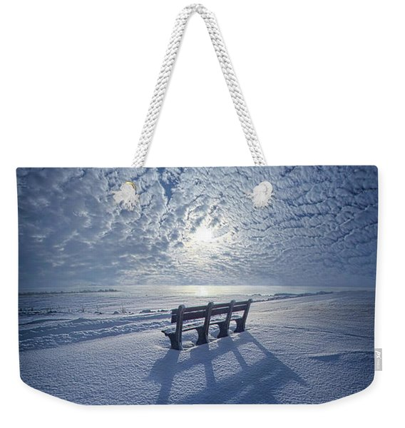 Within The Absence Are The Memories Weekender Tote Bag