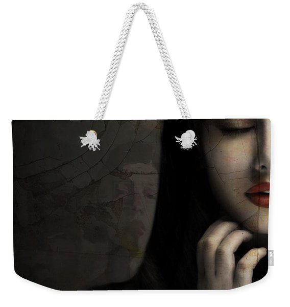 Without You - Digital Weekender Tote Bag