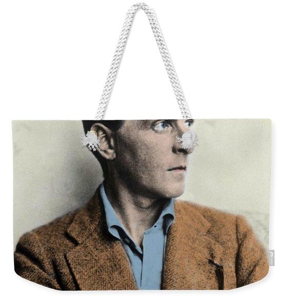 Wittgenstein Weekender Tote Bag
