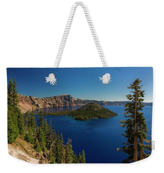 Wizard Island Weekender Tote Bag