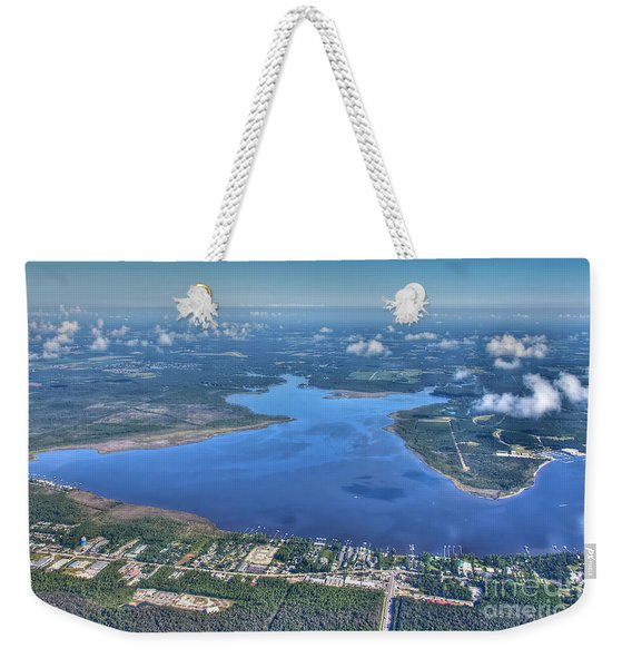 Wolf Bay Alabama Weekender Tote Bag
