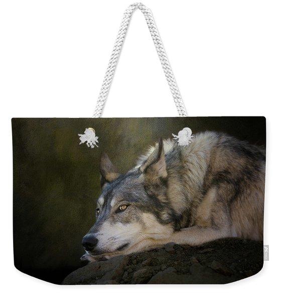 Wolf Watch Weekender Tote Bag