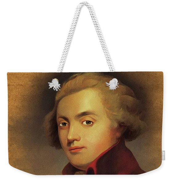 Wolfgang Amadeus Mozart, Music Legend Weekender Tote Bag