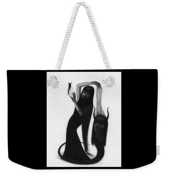 Woman With The Demon's Fingers - Artwork Weekender Tote Bag