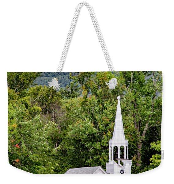 Wonalancet Union Chapel Weekender Tote Bag