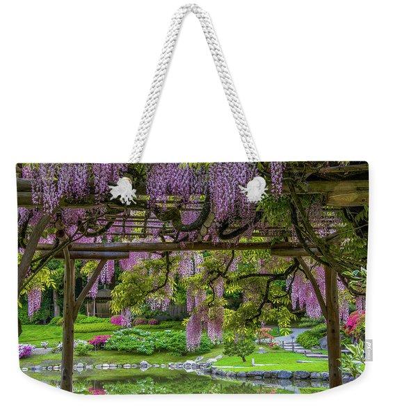 Wonderful Wisteria Weekender Tote Bag