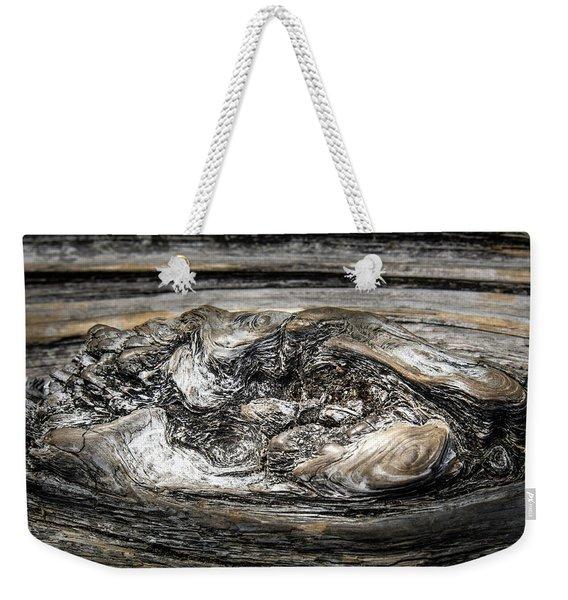 Wood Skine Weekender Tote Bag