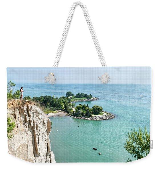 Woodbine Beach Weekender Tote Bag