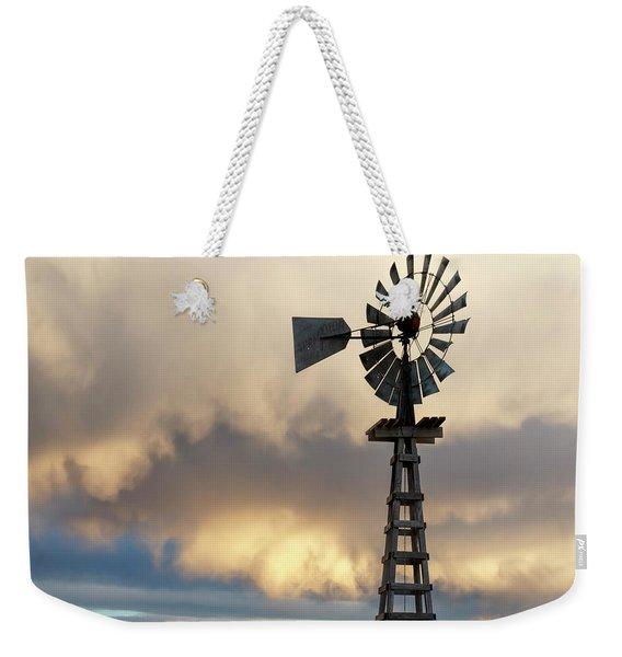 Wooden Windmill 01 Weekender Tote Bag