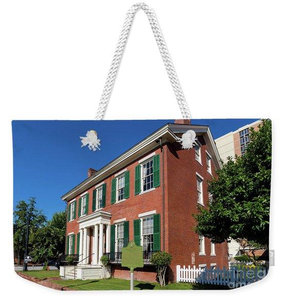 Woodrow Wilson Boyhood Home - Augusta Ga 2 Weekender Tote Bag