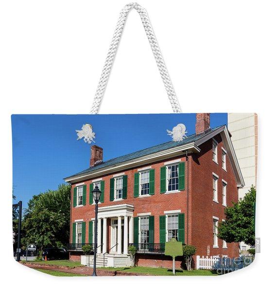 Woodrow Wilson Boyhood Home - Augusta Ga 3 Weekender Tote Bag