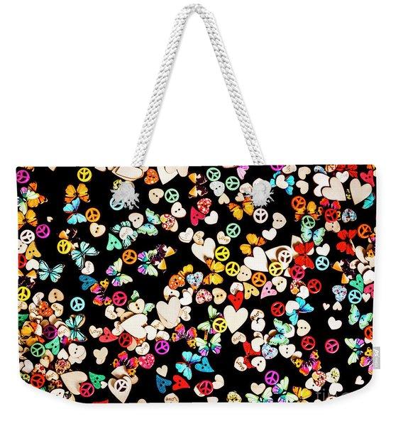 Woodstock Decorated Weekender Tote Bag