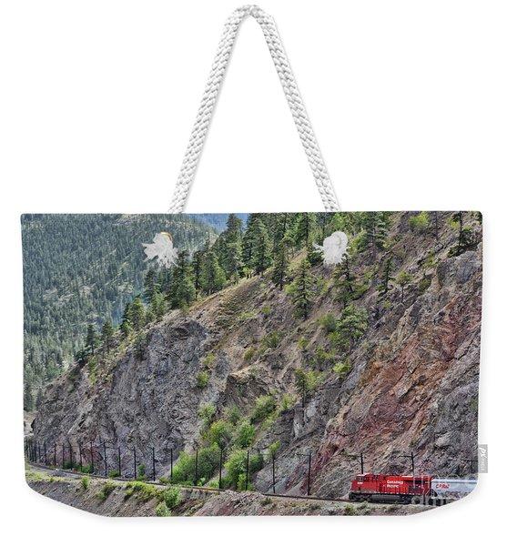 Work Tracks Weekender Tote Bag