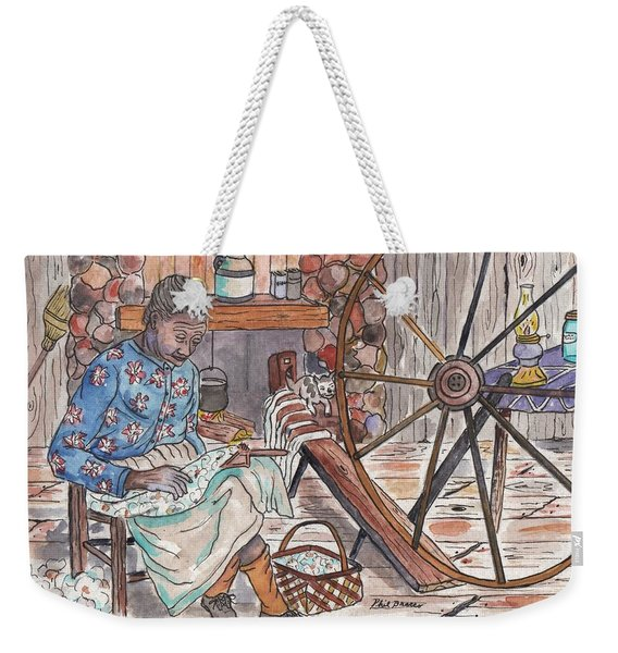 Working Cotton The Old Fashioned Way Weekender Tote Bag