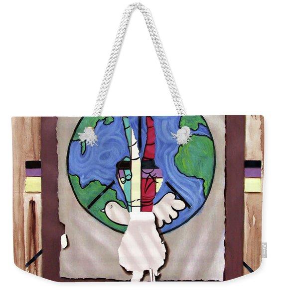 World Peace Weekender Tote Bag