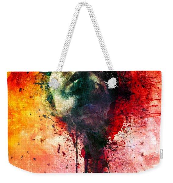 W.o.u.n.d.s Weekender Tote Bag