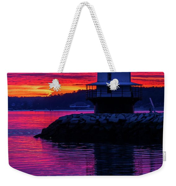 Wow Sunrise Weekender Tote Bag