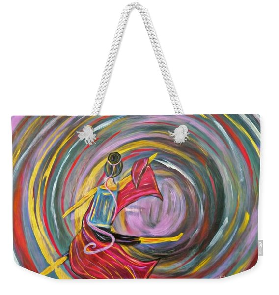 Wrapped In Love Weekender Tote Bag