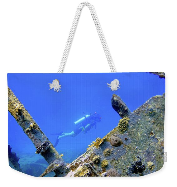 Wreck Framed Weekender Tote Bag