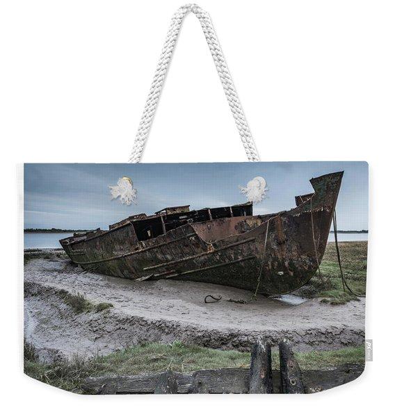 Wrecked  Weekender Tote Bag