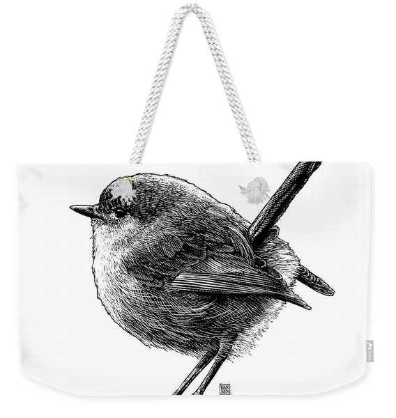 Wren Weekender Tote Bag
