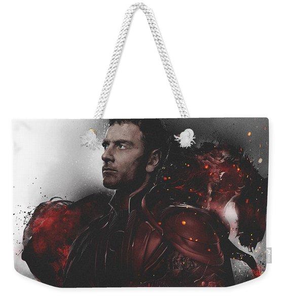 X-men Apocalypse Magneto War Weekender Tote Bag