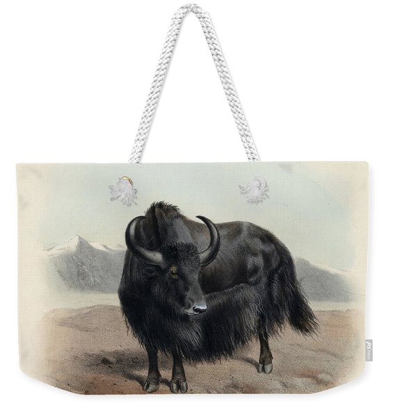 Yak Weekender Tote Bag