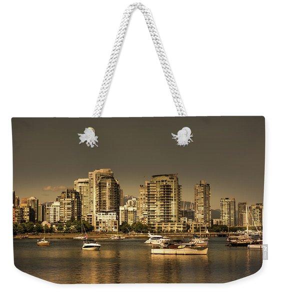 Yaletown Golden Hour Weekender Tote Bag