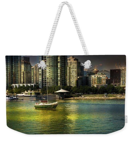 Yaletown Sunset Weekender Tote Bag