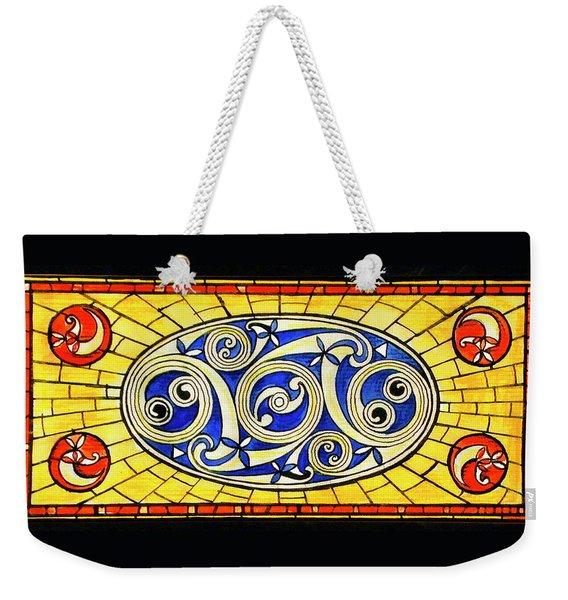 Yellow Brick World Weekender Tote Bag