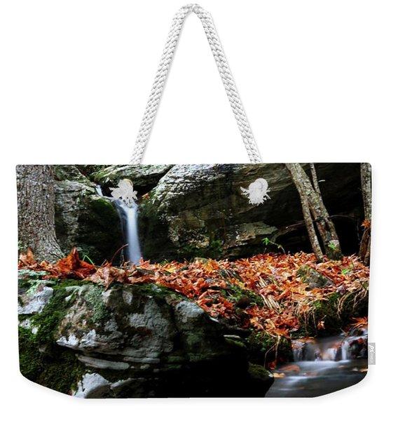 Yellow Cheek Valley Weekender Tote Bag