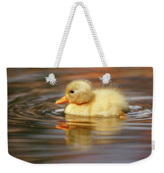 Yellow Duckling Weekender Tote Bag