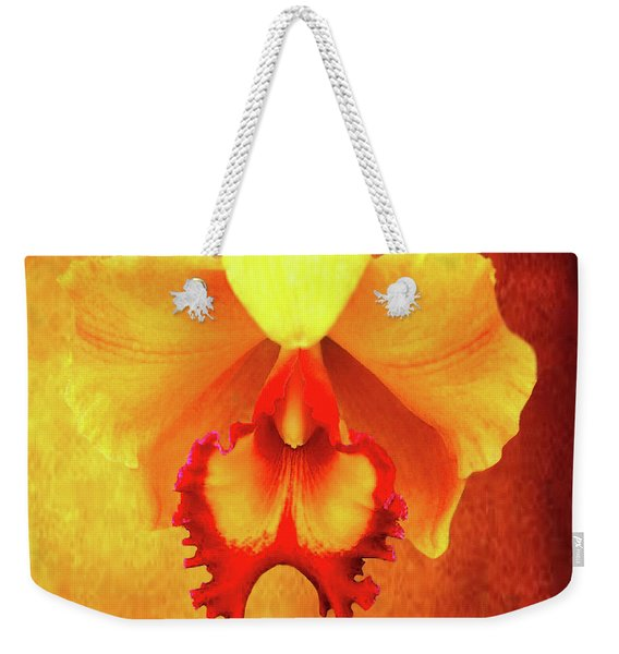 Yellow Exotic Weekender Tote Bag
